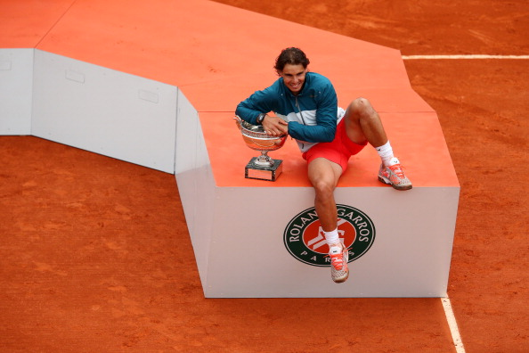 Rafael Nadal is the strong favourite to take home the men's title as he bids for his ninth French Open title ©Getty Images