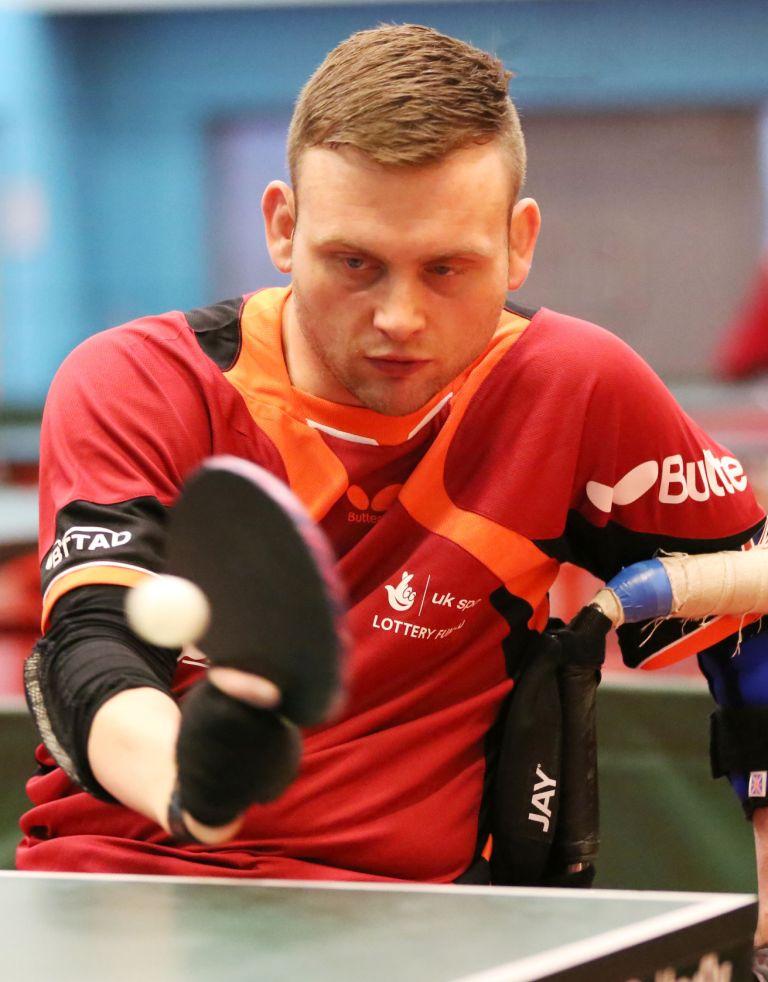 Rob Davies has sealed gold at the ITTF Slovenia Para Open ©BTTAD