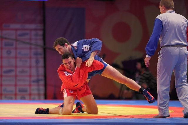 Sambo featured at the SportAccord World Combat Games in St Petersburg last year ©SportAccord
