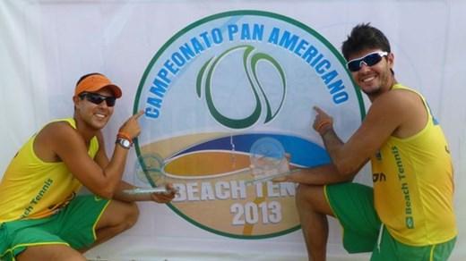 Santos, Brazil will host the 2014 ITF Beach Tennis Pan American Championships ©Stuart Barraclough/ITF