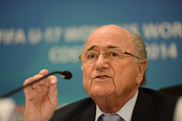 Sepp Blatter has admitted it was a mistake to award the 2022 FIFA World Cup to Qatar ©FIFA/Qatar
