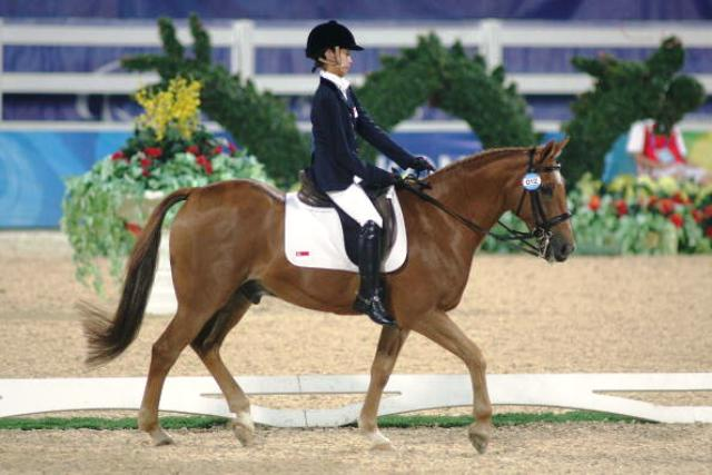 Former Paralympic champion Barwick takes dressage win in ...