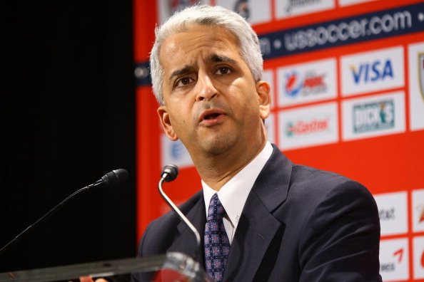Sunil Gulati has said the US would consider bidding for the 2026 World Cup only if changes were made to the bidding process ©Getty Images