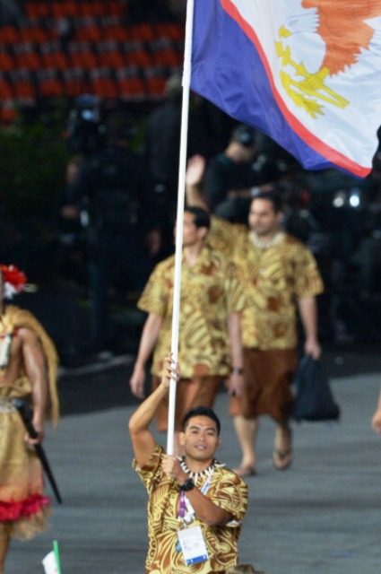 Swimmer Ching Wei was one of five American Samoa athletes to compete at the London 2012 Olympic Games ©AFP/Getty Images