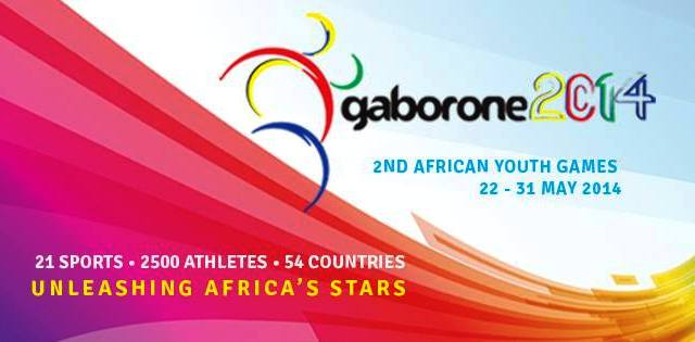The 2014 African Youth Games in Gaborone are set to get underway tomorrow ©Gaborone 2014