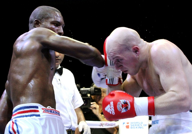 The Cuba Domadores had too much power and skill for the Russians as they booked their place in the WSB final ©WSB