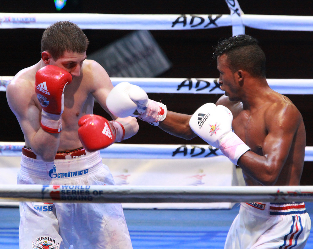 The Cuba Domadores powered to a 5-0 thrashing of the Russian Boxing Club in the second leg of the WSB semi-final to book their spot in next month's final ©WSB