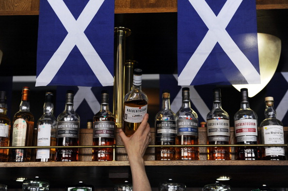 The Famous Grouse has been named the Official Whisky of Glasgow 2014 ©AFP/Getty Images