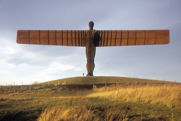 The Glasgow 2014 Queen's Baton Relay will visit the Angel of the North as part of the England leg ©Getty Images