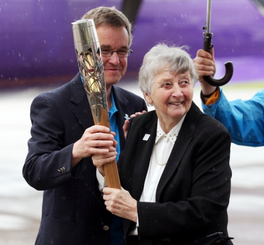 The Glasgow 2014 Queen's Baton will spend a week travelling through Wales before crossing the border to England ©Getty Images