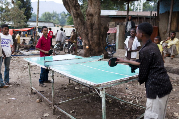 The ITTF Development Programme has seen the number of National Associations increase from 180 to 220 since 1999 and hopes to bring the sport to every corner of the globe ©National Geographic/Getty Images
