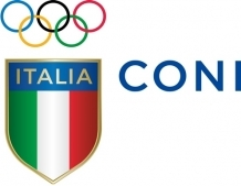 The Italian National Olympic Committee have signified a new age with the unveiling of a new logo ©CONI
