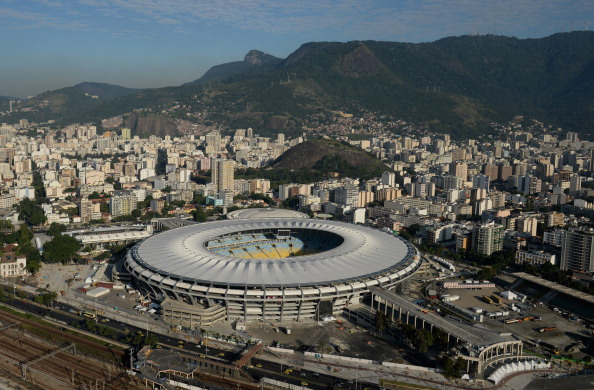 The Maracanã Stadium is one venue already completed ahead of it hosting the FIFA World Cup final on July 13 ©Getty Images