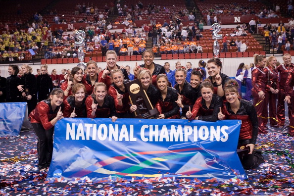 The National Gymnastics Foundation has devoted $300,000 to collegiate gymnastics across America ©University of Georgia/Collegiate Images/Getty Images