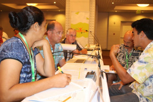 The ONOC General Assembly consisted of 17 NOC's across the region ©ONOC