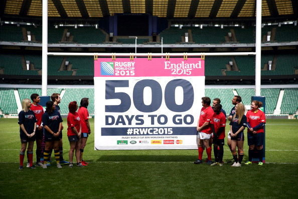 The Rugby World Cup in 2015 will be another major event set to boost tourism in London and Britain in future years ©Getty Images