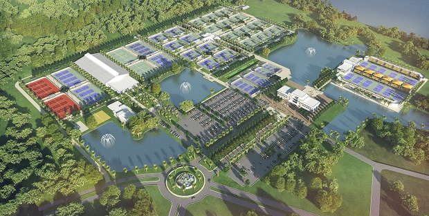 The USTA has unveiled plans for a new state-of-the-art tennis facility in Orlando ©USTA