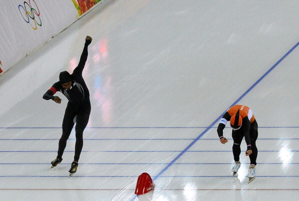 The US team, like the rest of the world, were utterly outclassed by the Netherlands in Sochi ©AFP/Getty Images