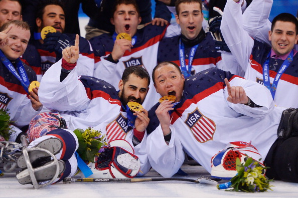 The United States, who won ice sledge hockey gold at Sochi 2014, are one of eight teams in World Championships A-Pool ©Getty Images