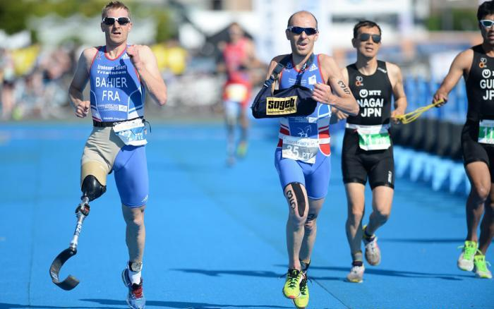 The Yokohama Triathlon saw the first ever ITU World Triathlon Series event for Para-triathletes ©ITU