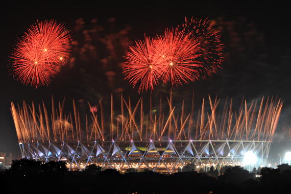 The build-up was controversial but the Opening Ceremony in Delhi went without a hitch ©Getty Images