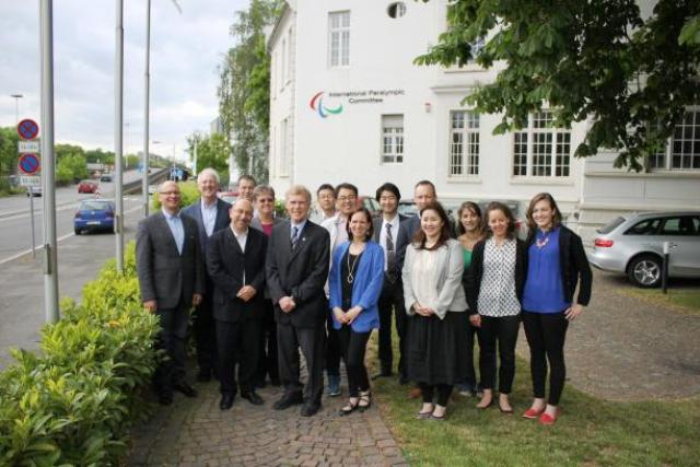 The legacy and impact of hosting Paralympic Games was the main topic at a special gathering at IPC headquarters in Bonn ©IPC
