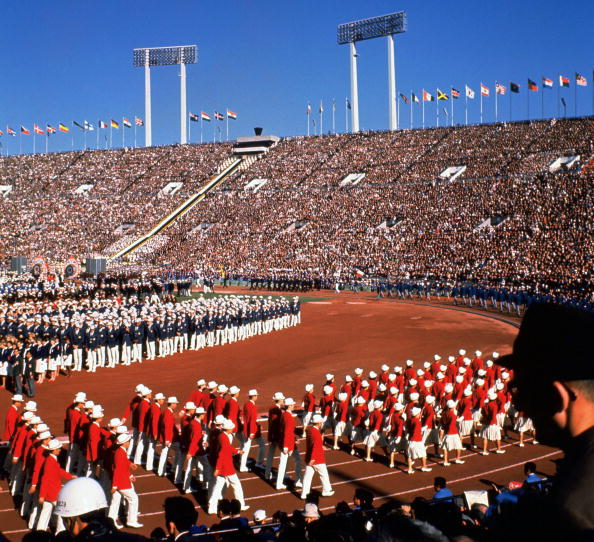 The new spaceship-style stadium will be very different to the one used at the last Olympic Games in Tokyo, in 1964 ©Getty Images