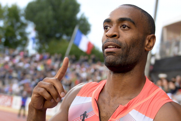 There has been a spiky reception to Tyson Gay's ban being cut in half ©AFP/Getty Images