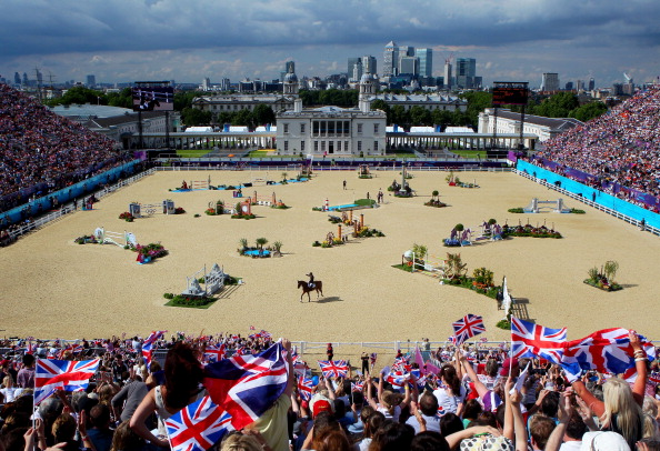 Tim Hadaway is credited for the success of the London 2012 Olympic and Paralympic equestrian events ©Getty Images