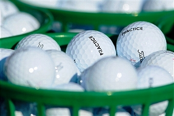 Titleist will provide range balls for warm up and practice on The European Tour for the next four years ©Getty Images