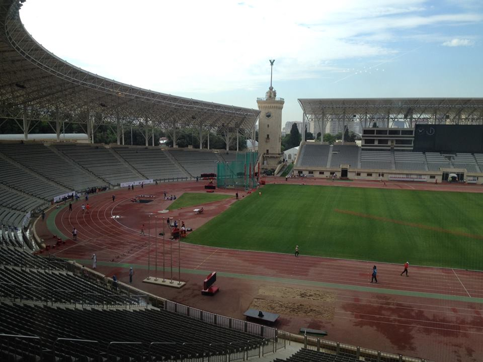 Baku 2015 is preparing for its first test event at Tofiq Bahramov Stadium by hosting the European Youth Olympic Trials ©Baku 2015