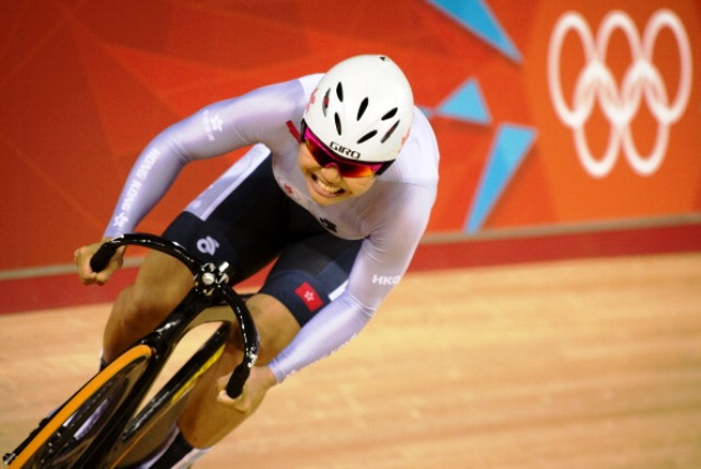 Track cyclist Lee Wai Sze won Hong Kong's only medal at London 2012 taking bronze in the women's keirin event ©Getty Images