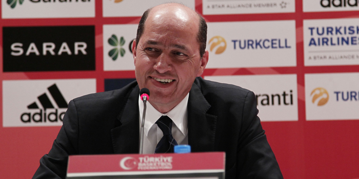 Turgay Demirel has been elected as the new President of FIBA EUrope ©Turkish Basketball Federation