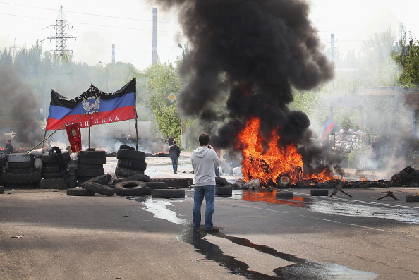 Violence has spilled across Ukraine, including in Donetsk where pro-Russian activists have clashed with the Ukrainian army ©Getty Images