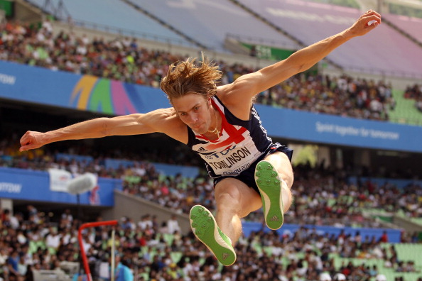 Chris Tomlinson, who previously shared the British record of 8.35m with Rutherford, insists his questioning of the latest mark is not personal ©Getty Images