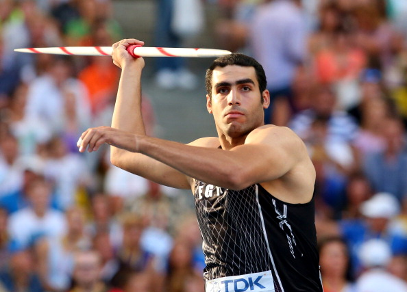 Abdelrahman El Sayed produced the performance of the IAAF Shanghai Diamond League meeting as he defeated a javelin field including all three world medallists from last year and the London 2012 champion with an African record of 89.21m ©Getty Images