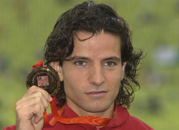 Yego Lamela pictured with European bronze in 2002 ©Getty Images