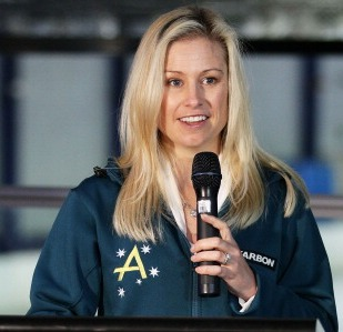 Alisa Camplin has been appointed Chef de Mission of Australia's team at the 2016 Winter Youth Olympic Games in Lillehammer ©Getty Images