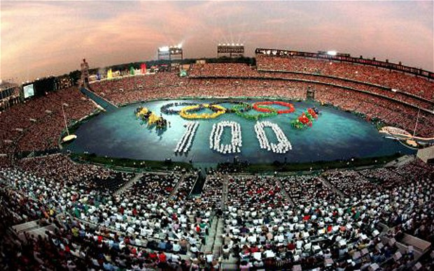 The new long-term deal between the IOC and NBC appears to have strengthened the chances of the United States hosting the Summer Olympics for the first time since Atlanta 1996, when they staged the Centennial Games ©Getty Images