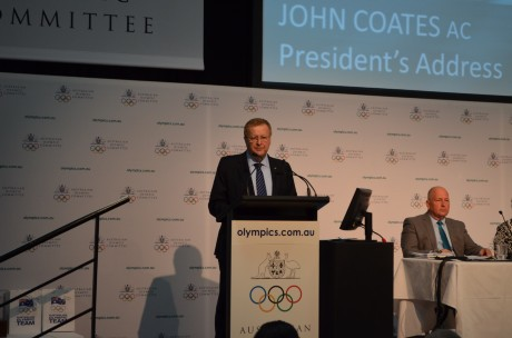 Australian Olympic Committee President John Coates is pleased with the new powers enshrined in the World Anti-Doping Code ©AOC