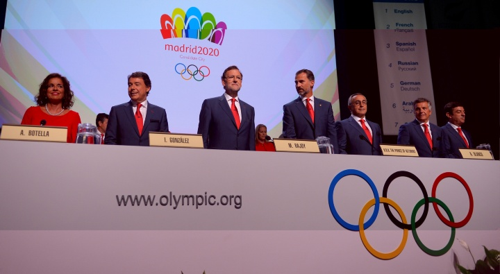 Madrid 2020 seemed to have momentum going into the final vote at the IOC Session in Buenos Aires but were eliminated in the first round ©Getty Images