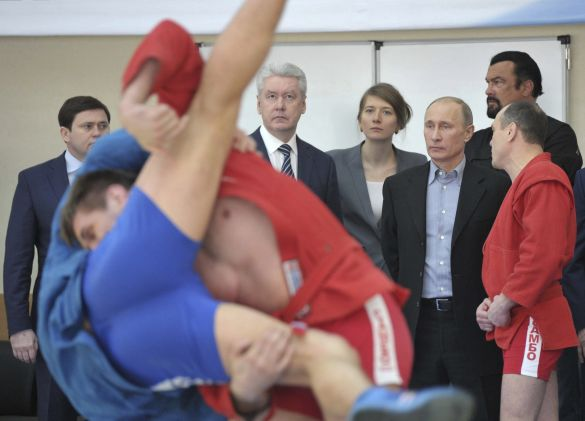 Russian President Vladimir Putin had personally lobbied for sambo to be included in the inaugural European Games in Baku ©Getty Images