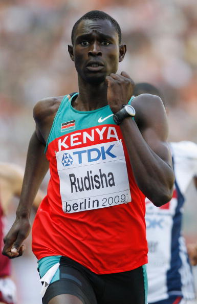 David Rudisha, Kenya's world 800m record holder ©Getty Images