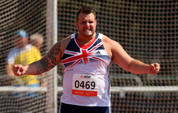 Aled Davies will lead a six-strong Welsh Para-athletics team for Glasgow 2014 ©Getty Images