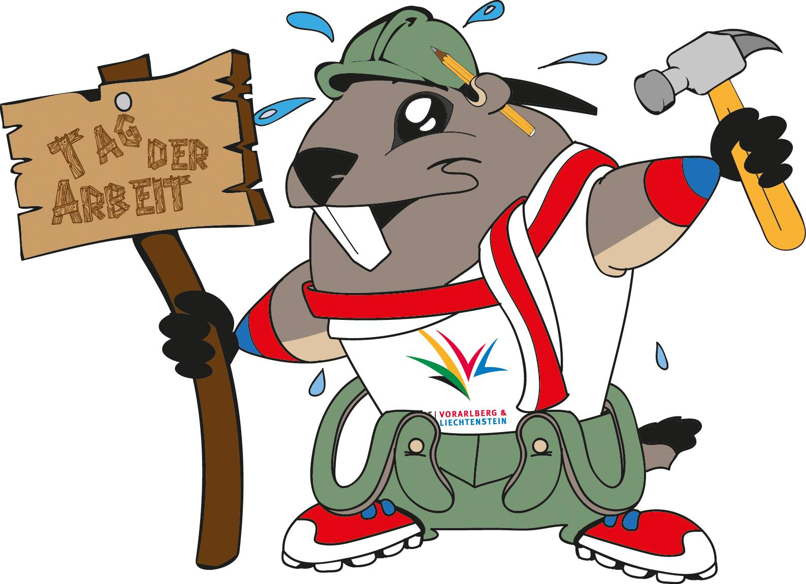 European Youth Olympic Festival Vorarlberg Liechtenstein mascot Alpy was introduced to the 49 National Olympic Committees of the European Olympic Committees in Cyprus today ©EYOF 2015