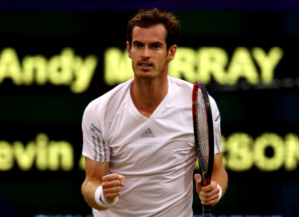 Andy Murray is through to the Wimbledon quarterfinals ©Getty Images