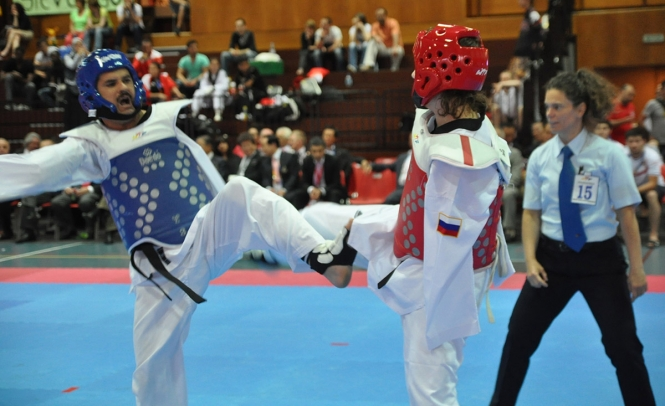 Around 120 athletes from a record 40 countries have made the trip to Moscow for the 5th World Para-Taekwondo Championships