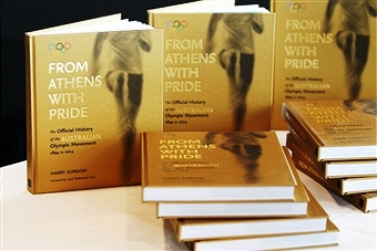 Australia's 120-year involvement in the Olympic Movement has been documented in the launch of a new book in Sydney today ©Getty Images