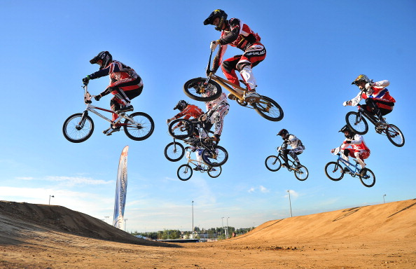 BMX, mountain bike and road cycling, but not track events, will feature at Baku 2015 ©AFP/Getty Images