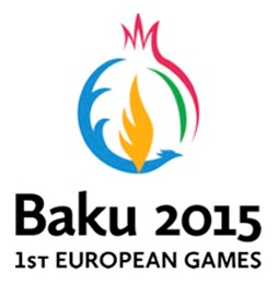 A new updated logo for the first European Games has been launched by Baku 2015 ©Baku 2015
